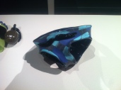 Blown and sculpted glass. 16 x 11 x 10.5 cm. 2011.
