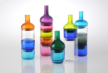 Constructed Sets. Blown Glass.